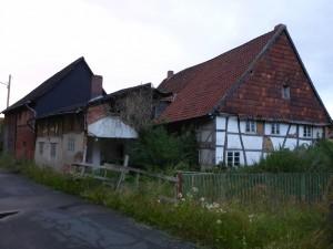 Das Haus von Süd-Ost-Ecke